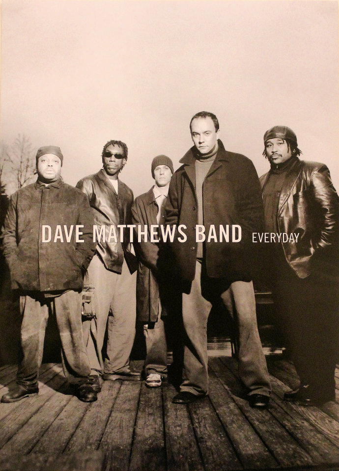 Dave Matthews Band: Everyday Poster