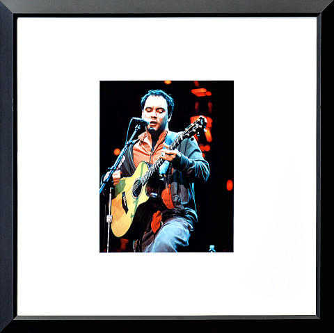 Dave Matthews Band Framed Fine Art Print