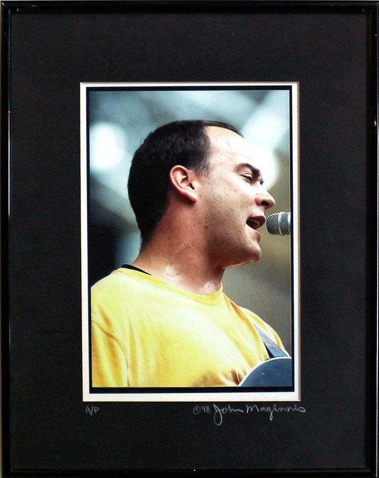 Dave Matthews Framed Vintage Print