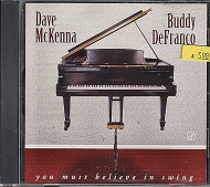 Dave McKenna / Buddy DeFranco CD