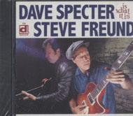 Dave Specter & Steve Fruend CD