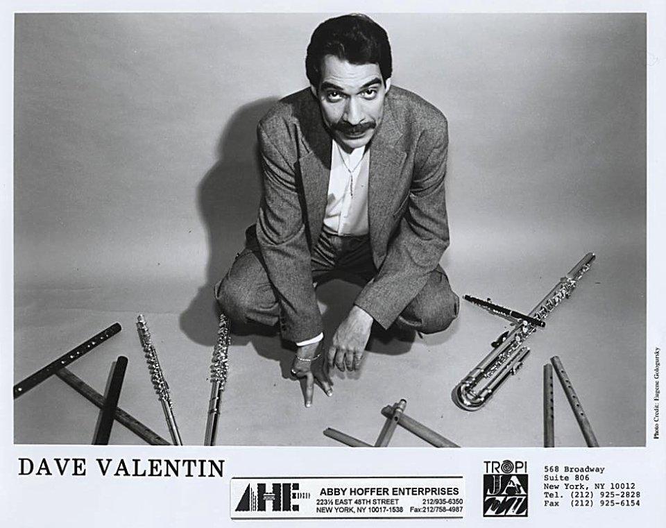 Dave Valentin Promo Print