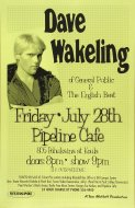 Dave Wakeling Poster