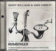 Davey Williams & John Corbett CD