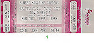 David Benoit Vintage Ticket