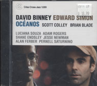 David Binney / Edward Simon CD