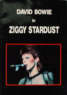 David Bowie In Ziggy Stardust Program