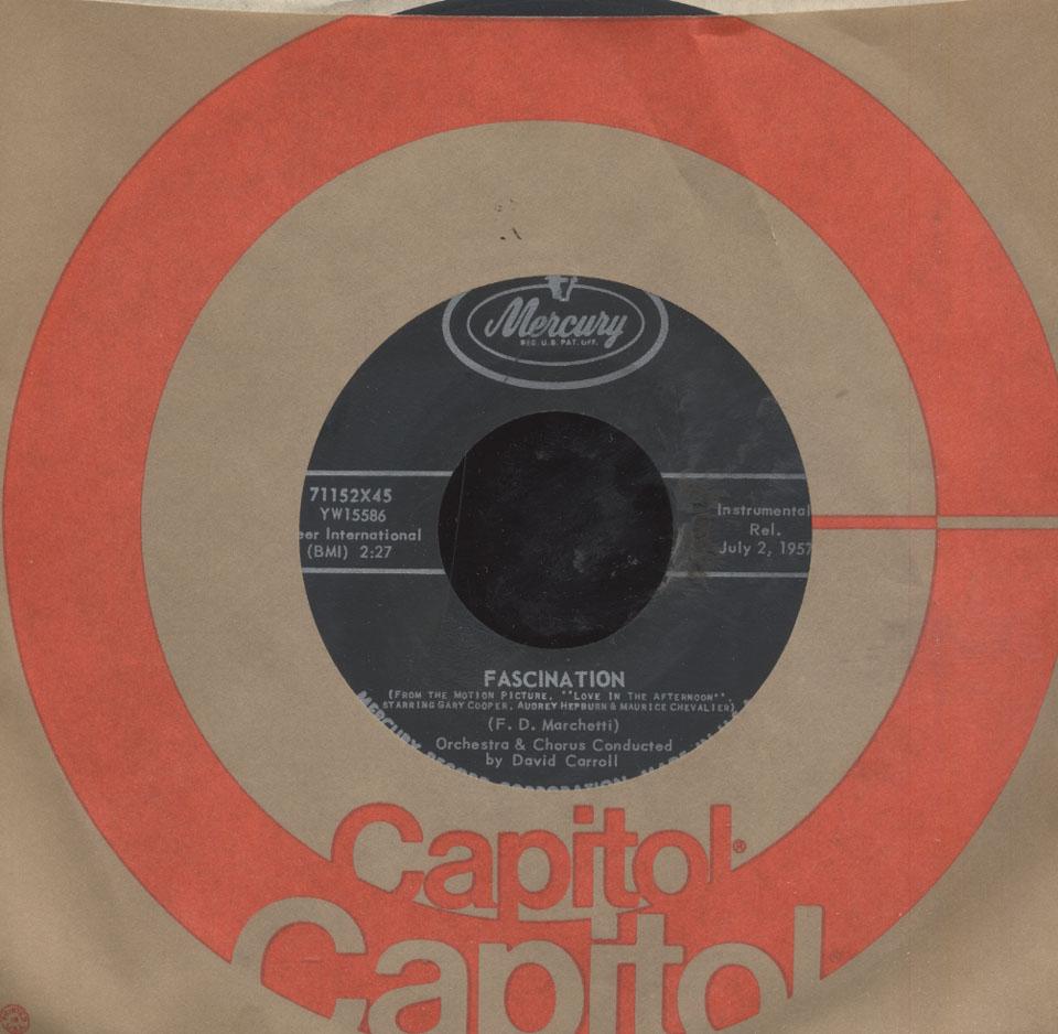 """David Carroll Vinyl 7"""" (Used)"""