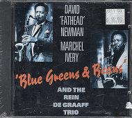 """David """"Fathead"""" Newman / Marchel Ivery / The Rein De Graff Trio CD"""