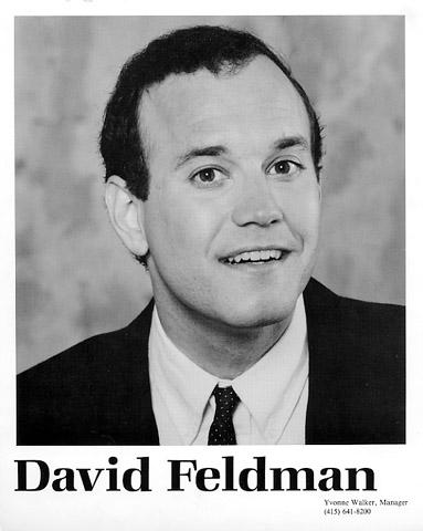 David Feldman Promo Print