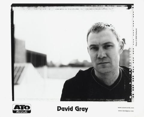 David Gray Promo Print
