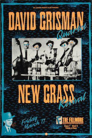 David Grisman Quartet Poster