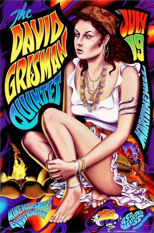 David Grisman Quintet Poster
