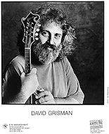 David Grisman Promo Print