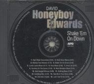 "David ""Honeyboy"" Edwards CD"
