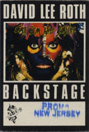 David Lee Roth Backstage Pass