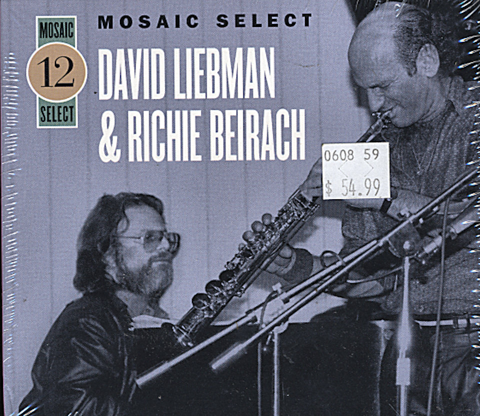 David Liebman & Richie Beirach CD
