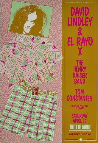 David Lindley and El Rayo X Poster