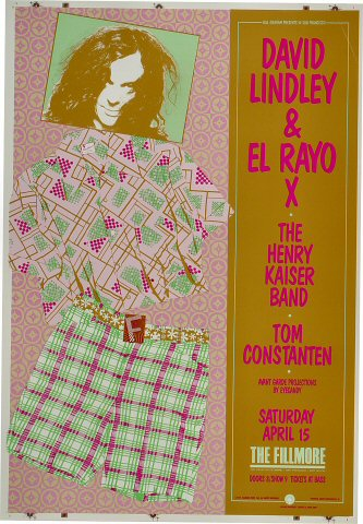 David Lindley and El Rayo X Proof