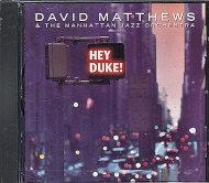 David Matthews & The Manhattan Jazz Orchestra CD