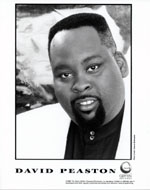 David Peaston Promo Print