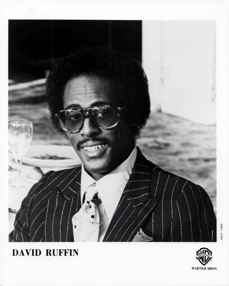 David Ruffin Promo Print