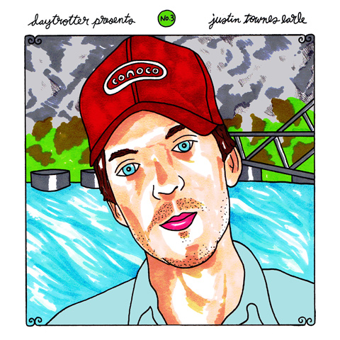 "Dawes / Justin Townes Earle Vinyl 12"" (New) reverse side"