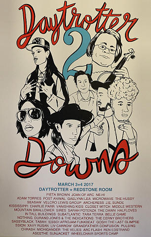 Daytrotter Downs Poster