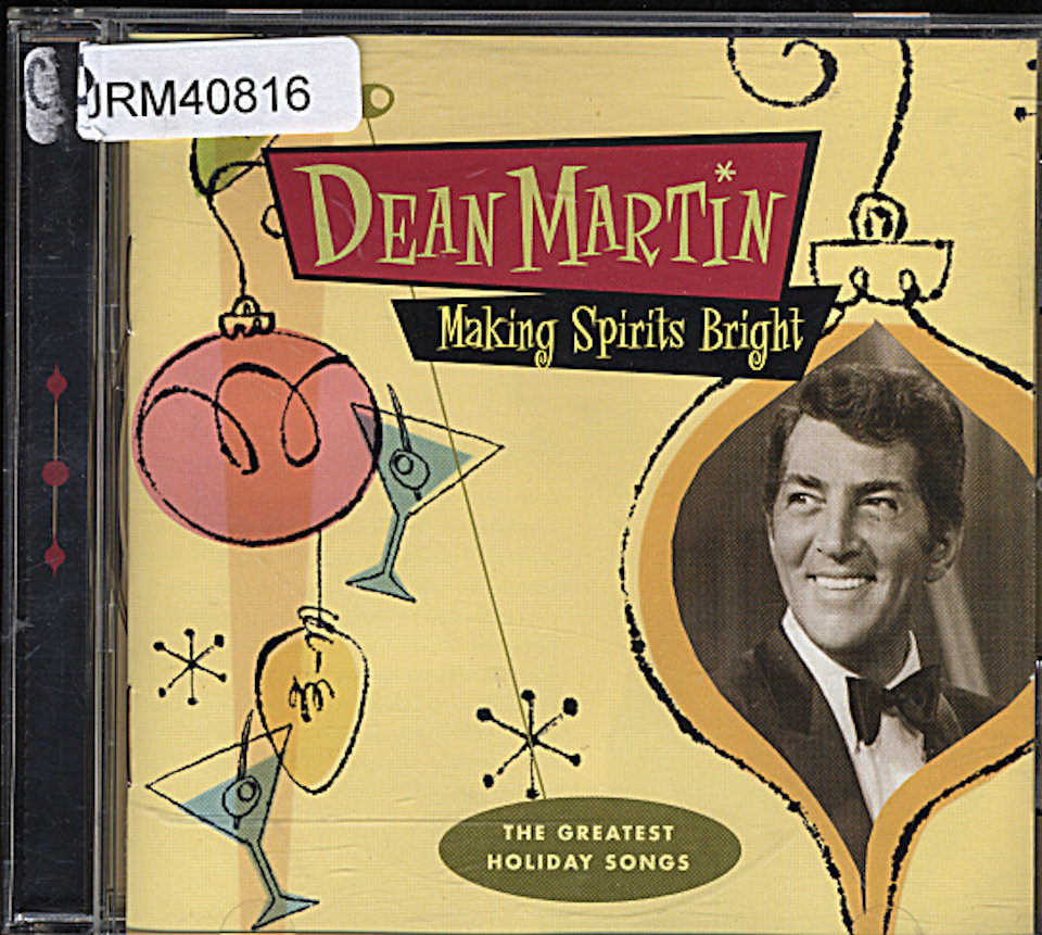 Dean Martin Cd 1998 At Wolfgang S