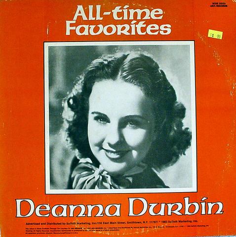 "Deanna Durbin Vinyl 12"" (Used)"
