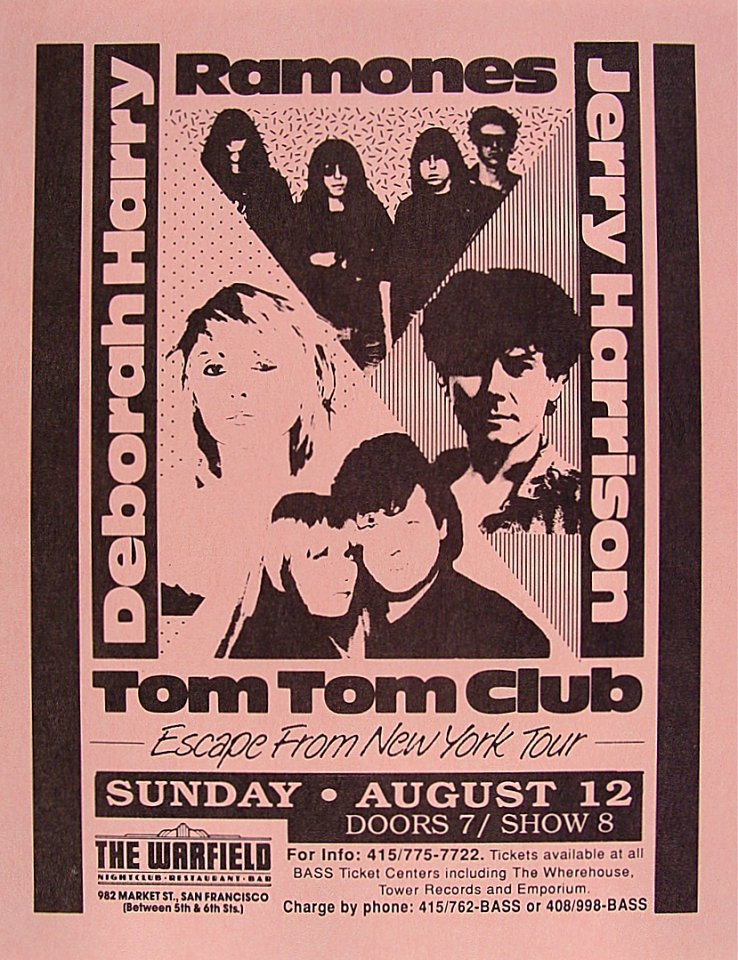 Deborah Harry Handbill