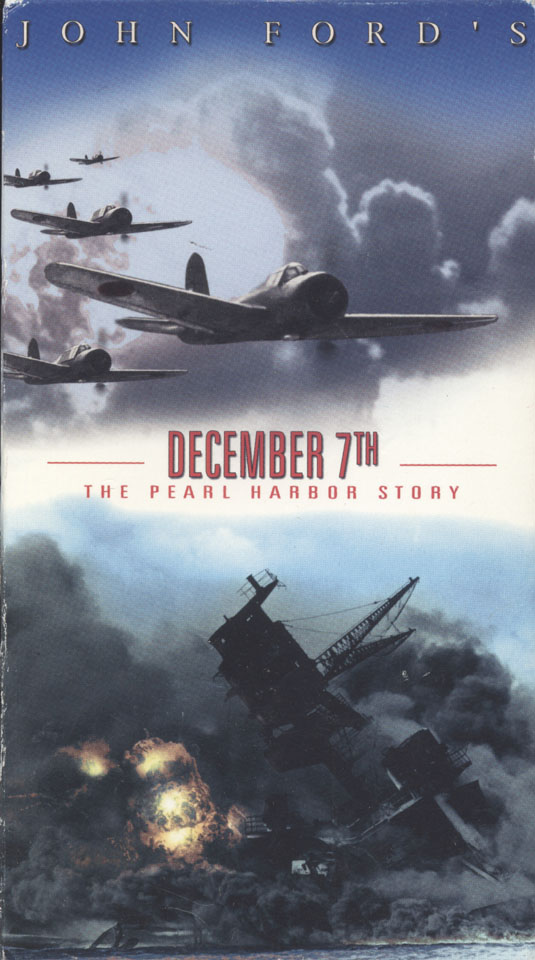 December 7th: The Pearl Harbor Story VHS