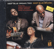Deep Blue Organ Trio CD