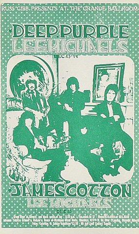 Deep Purple Postcard