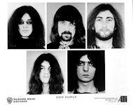 Deep Purple Promo Print