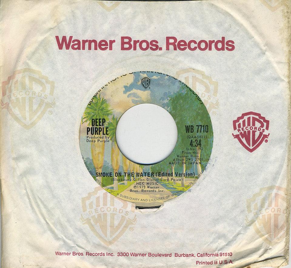 """Deep Purple Vinyl 7"""" (Used)"""