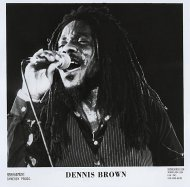 Dennis Brown Promo Print