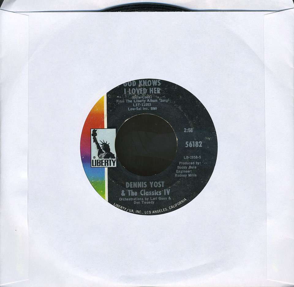 Dennis Yost and The Classics IV - Cherry Hill Park - Pick Up The Pieces