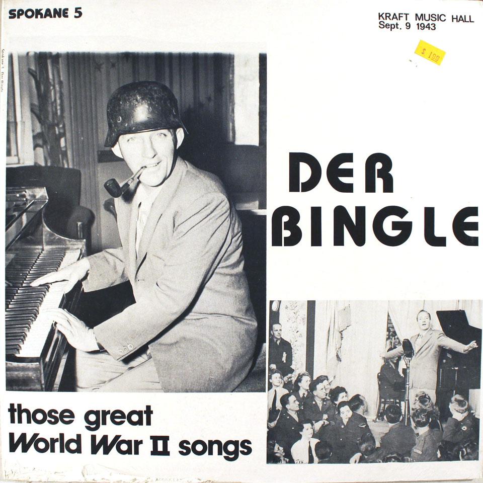 "Der Bingle Vinyl 12"" (New)"