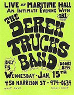 Derek Trucks Band Handbill