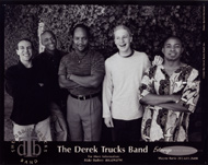 Derek Trucks Band Promo Print