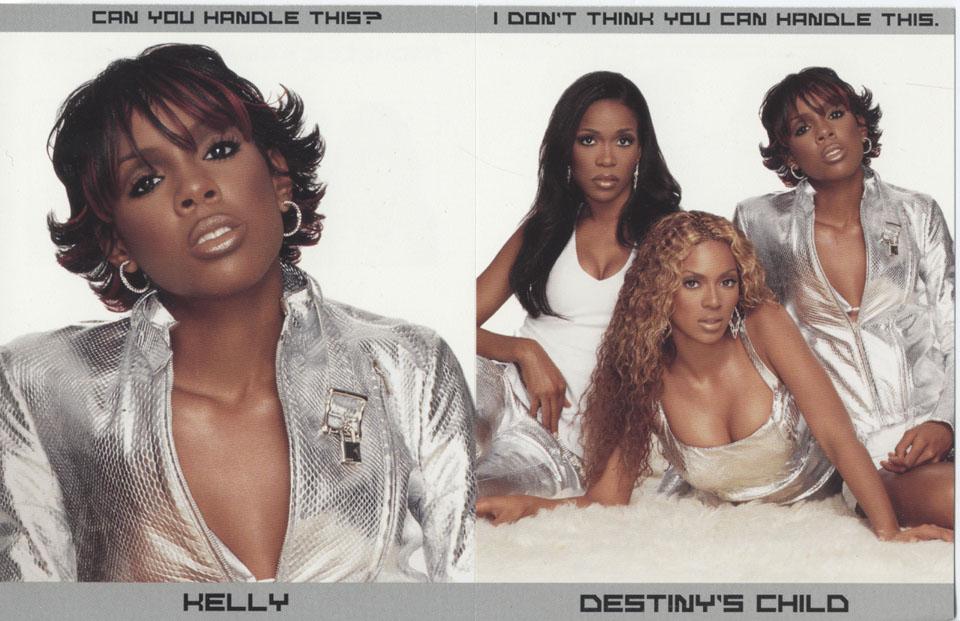 Destiny's Child Handbill