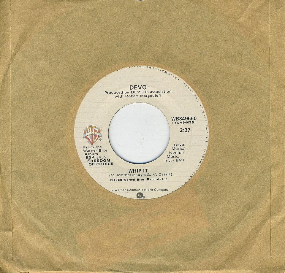 "Devo Vinyl 7"" (Used)"