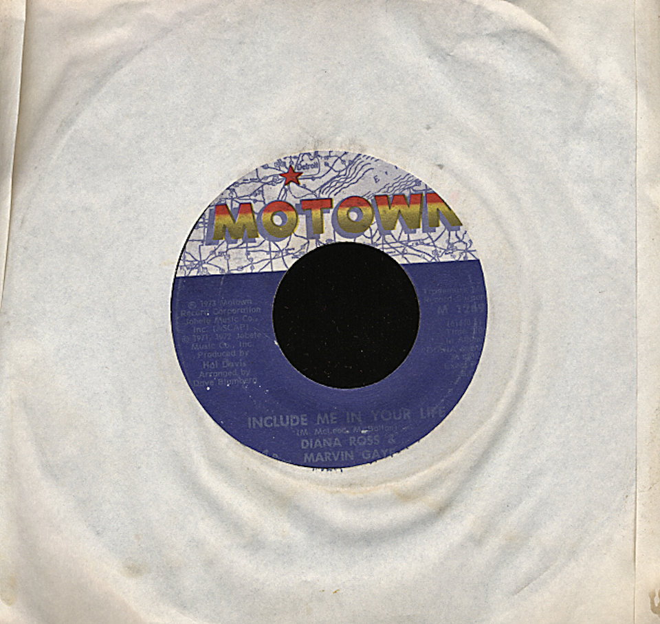 "Diana Ross & Marvin Gaye Vinyl 7"" (Used)"