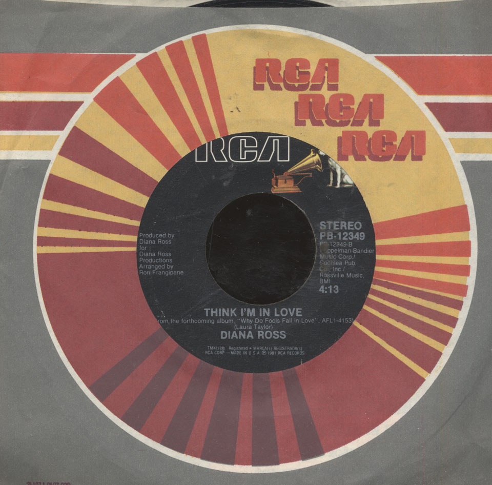 "Diana Ross Vinyl 7"" (Used)"