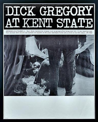 Dick Gregory Framed Poster