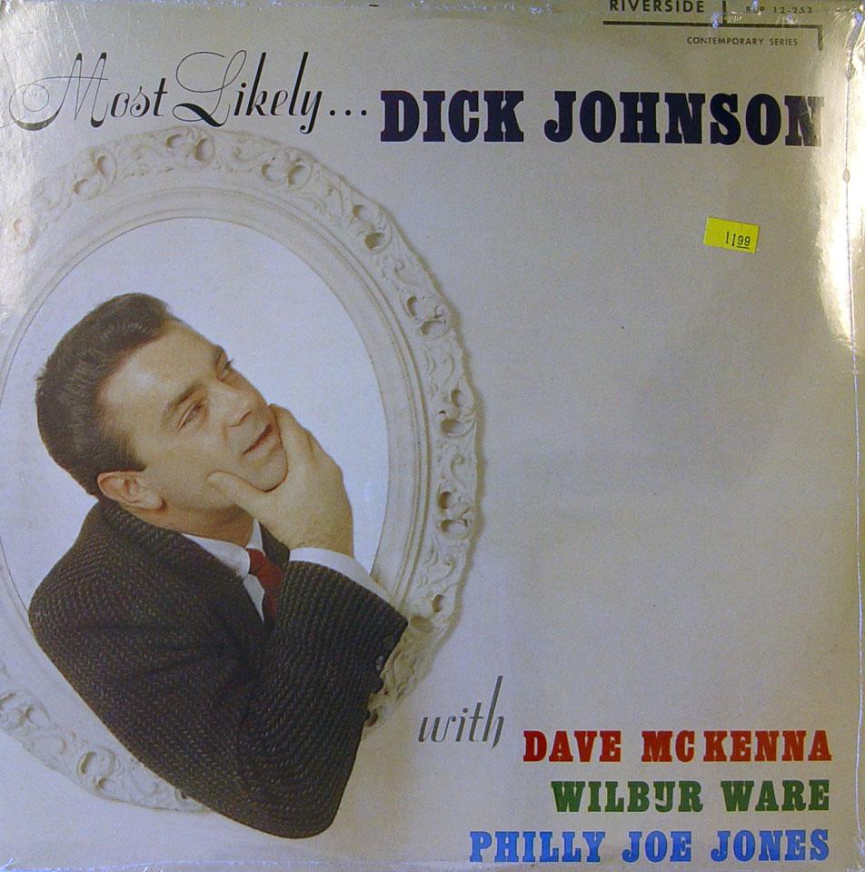 "Dick Johnson Vinyl 12"" (New)"