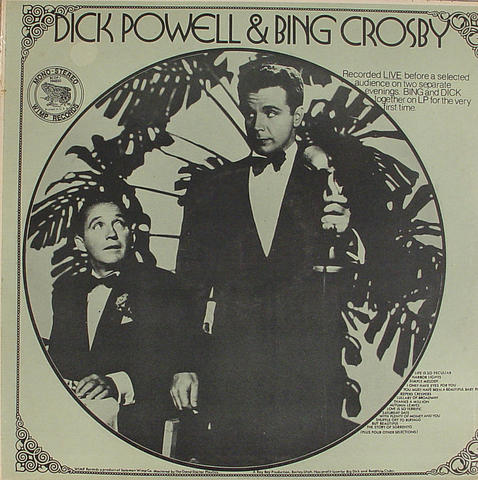 "Dick Powell & Bing Crosby Vinyl 12"" (Used)"