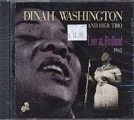 Dinah Washington and her Trio CD