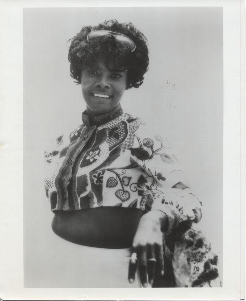 Dionne Warwick Vintage Print